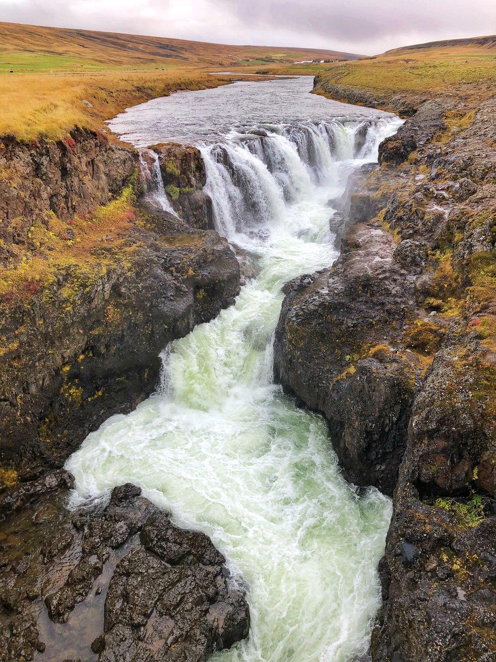 Kolufossar Falls