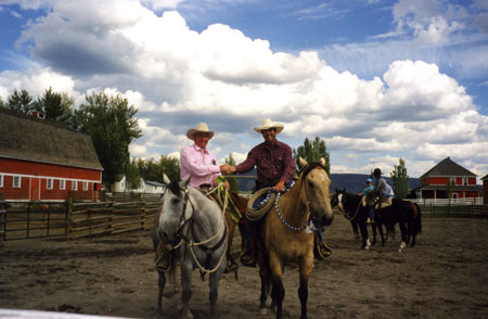 "RAY HUNT – 1997, Gang Ranch, British Columbia, Canada ""Make The Right Thing Easy and The Wrong Thing Difficult"""
