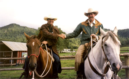 "PAT PARELLI  – 1998, Pagosa Springs, Colorado  ""Horses Don't Care How Much You Know Until They Know How Much You Care"""