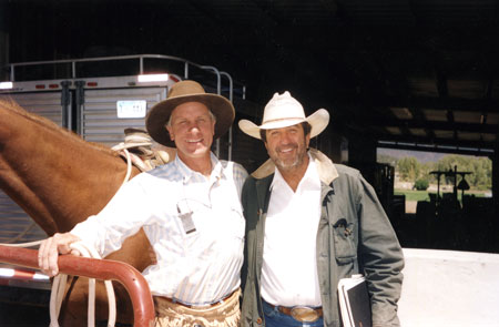 "BUCK BRANNAMAN  – 2002, Eagle, Colorado  ""All your horses are a mirror to your soul. Sometimes you won't like what you see, sometimes you will."""