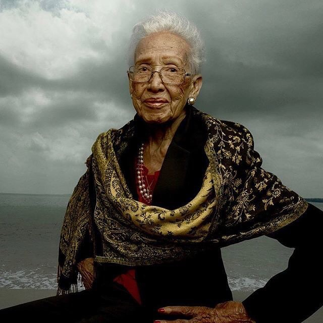 Happy 100th Birthday Katherine Johnson. If you haven't seen Hidden Figures, I highly recommend seeing it, the you can see what this wonderful lady, plus others achieved.