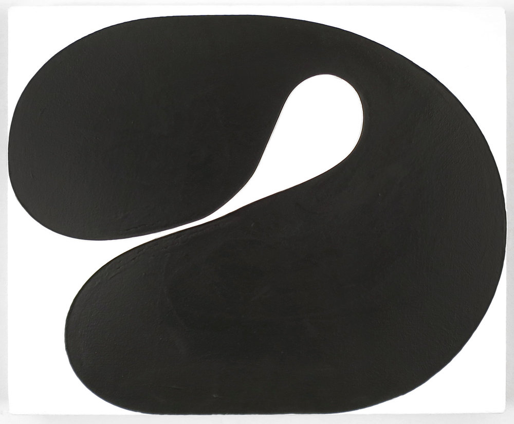 Copy of Gary Kuehn, Black Painting, 2016