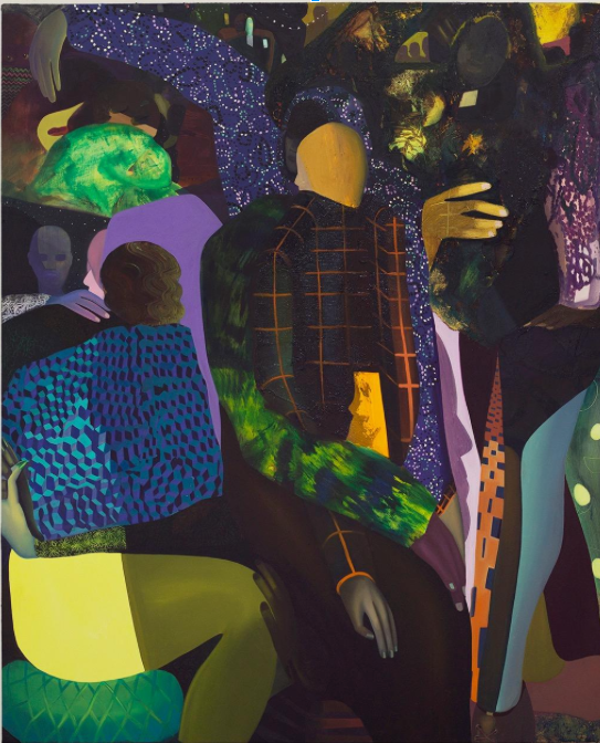 Coady Brown, Magic Man, 2017, oil on canvas, 54 x 46 in