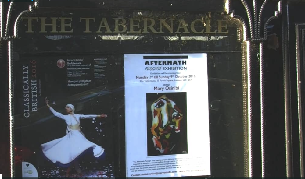 Tabernacle Gallery: Watch video from the exhibition here:  CLICK ME