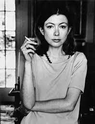 Joan Didion. Photo by Julian Wasser (1968).