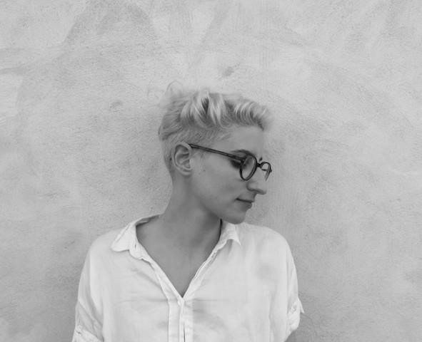Céline Alexis Buehrer. Photo by Guillaume Géraud.