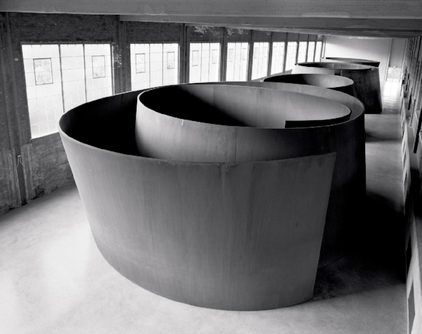Torqued Spiral  ©Richard Serra/Artist Rights Society (ARS) Photo: Lorenz Kienzle