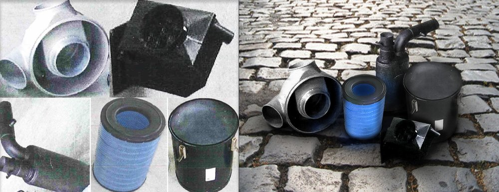 Our Photoshop experts can do anything.  They took these low resolution product photos, cleaned them up, and positioned them in a group on a cobblestone street with more interesting lighting and presentation.