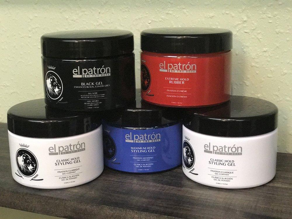 El Patron Mens Hair Gel Products Blancas Salon