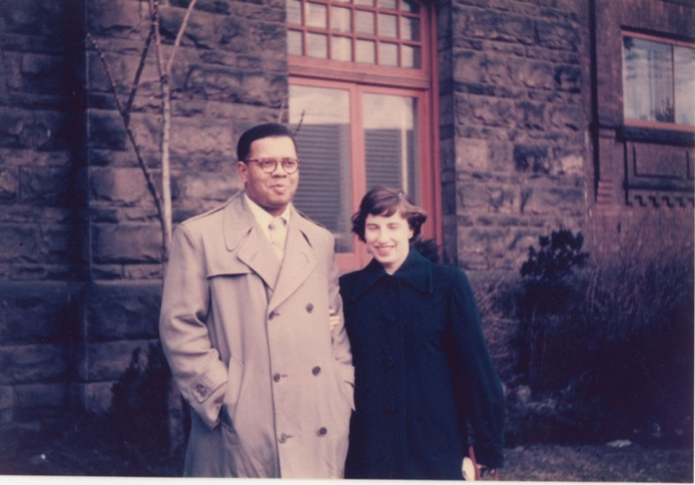 Daniel Hill and wife Donna Bender in 1953