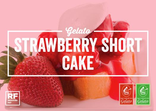 Strawberry Short Cake Ice Cream/Gelato