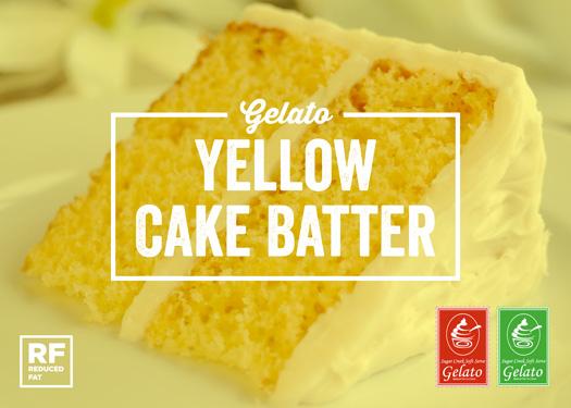 Yellow Cake Batter Ice Cream/Gelato