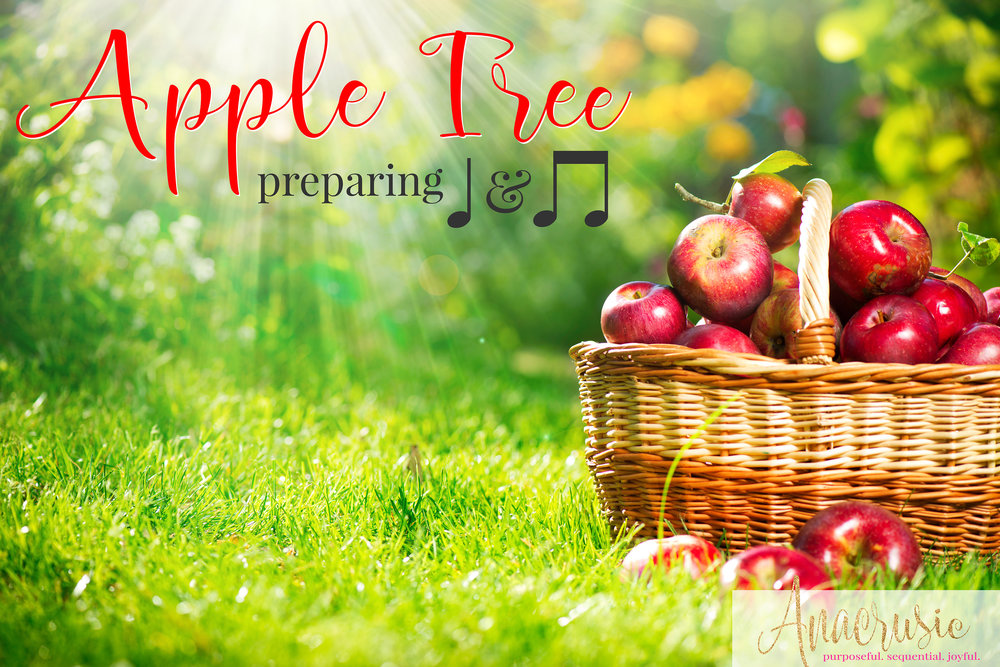 There are so many fun ways to prepare quarter note & eighth note in the elementary music room! Whether you call it ta & ti-ti or something different, these are my favorite activities to prepare and practice one or two sounds on a heart beat for rhythm, using one of my favorite songs, Apple Tree. Snag your freebie with song notation and two different game directions!
