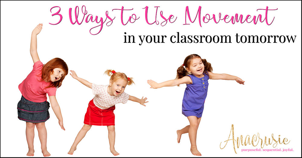 If movement and dancing always get your stuck when planning elementary music experiences for your students, try these three easy steps to jump start a movement revolution in your music classroom! Perfect and easy to extend activities you are already doing with your Kindergarten through Fifth Grade Music Students!!