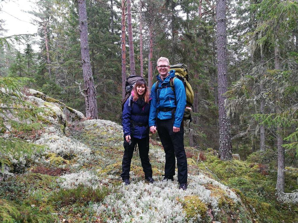 hiking around stockholm
