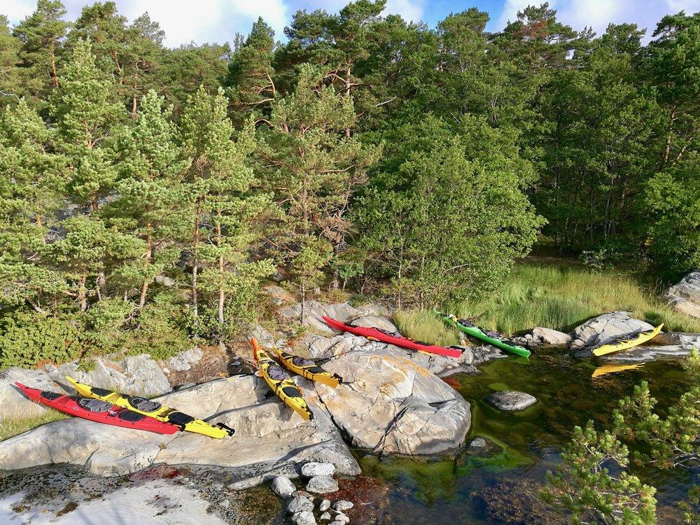Stockholm Archipelago Kayaking 1 day 4