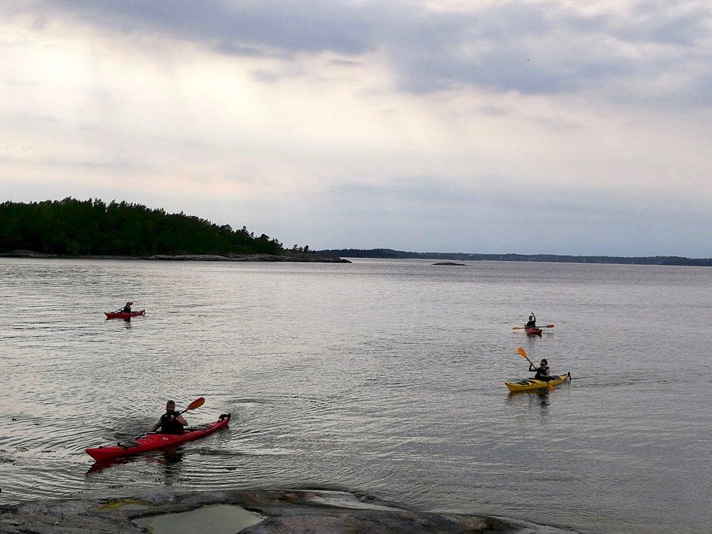 Stockholm Archipelago Kayaking 2 days 6