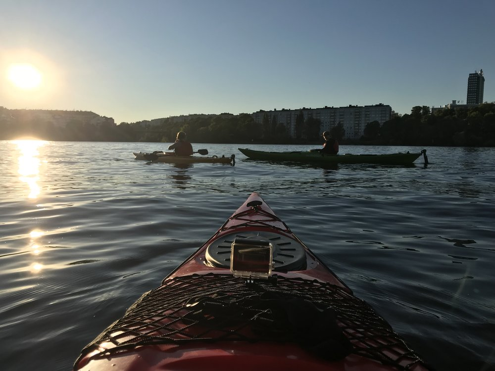 Kayaking in Stockholm City - Guided Stockholm Tours 2