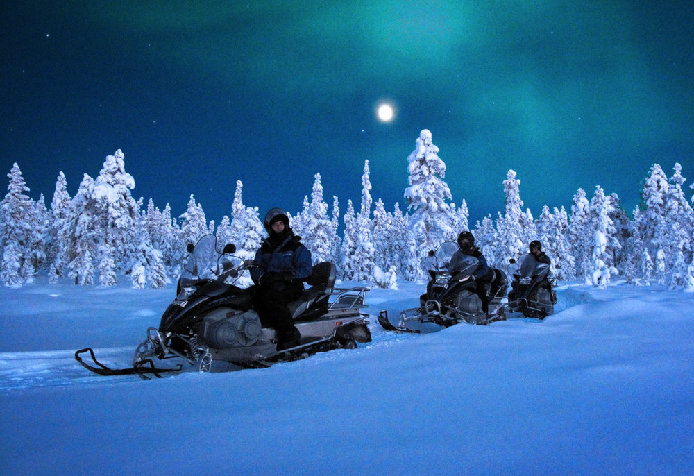 Snowmobil Arctic Adventure Lapland Tours Sweden Guided Tours