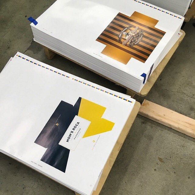 Piggybacking on DT Marshall's Roca box run. Part 2 - Press Sheets. Can't wait to see the finished product!
