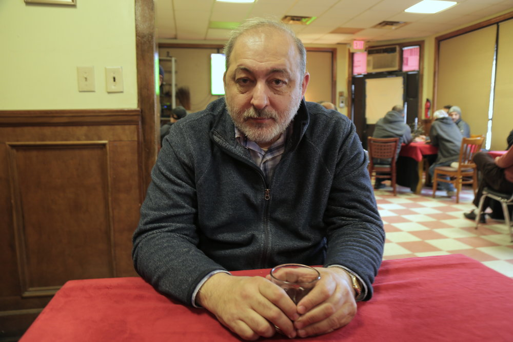 Osman Altay, 56, is a Turkish-American who has been living in Paterson, N.J., for 40 years and voted for Donald Trump. (Photo credit: Orhan Akkurt.)