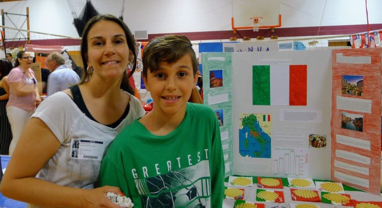 Ventnor Middle School Revives Multicultural Fair