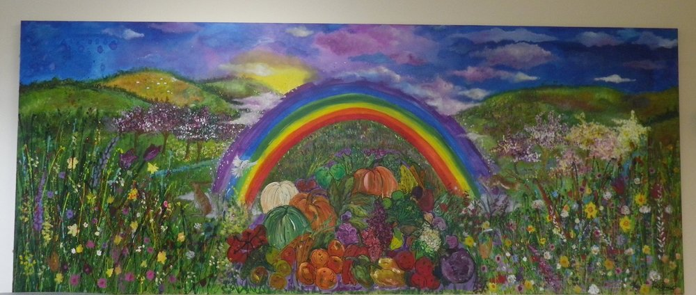 Pilton Bluecoats Home Economics Wall Mural