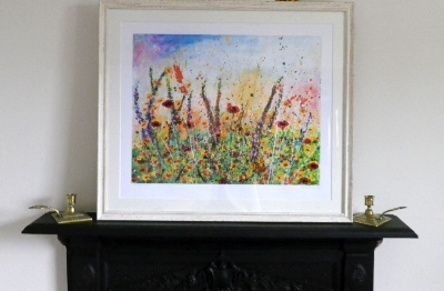 A framed Limited edition print