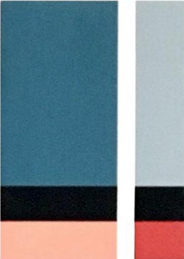 "18.53  5x7x1.5"" 2018 Flashe vinyl paint on Birch cradled panel"