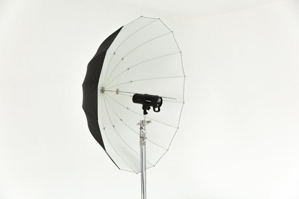 XL Deep White Umbrella w/o Diffusion
