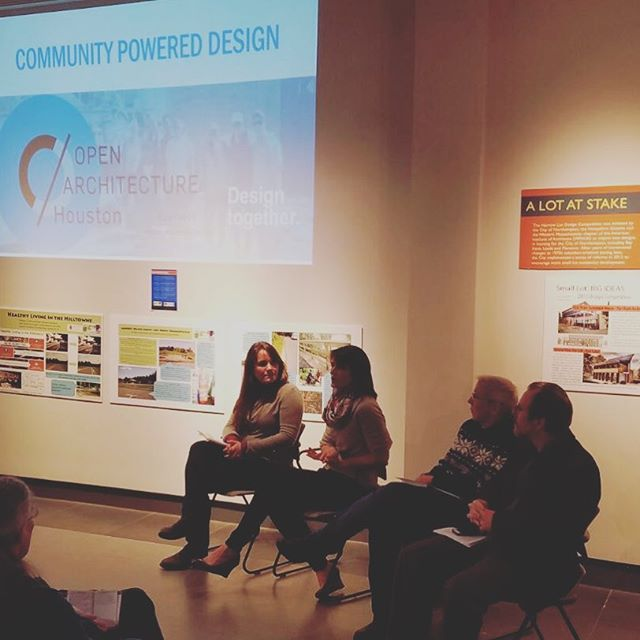 Loved sharing our work with @conwayschool in Northampton last night. Great discussion about community centered design. #designtogether