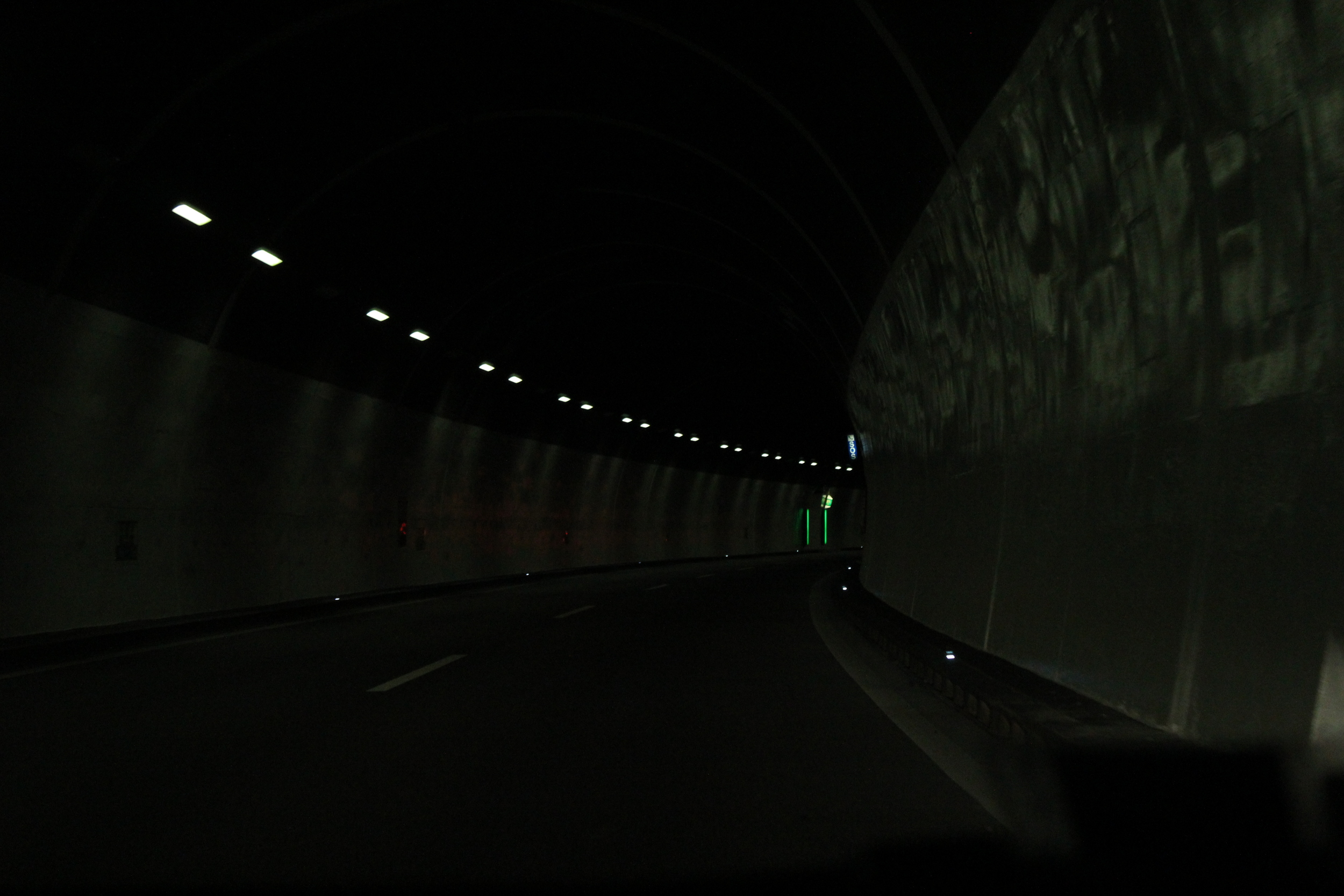 tunnel to Lugano