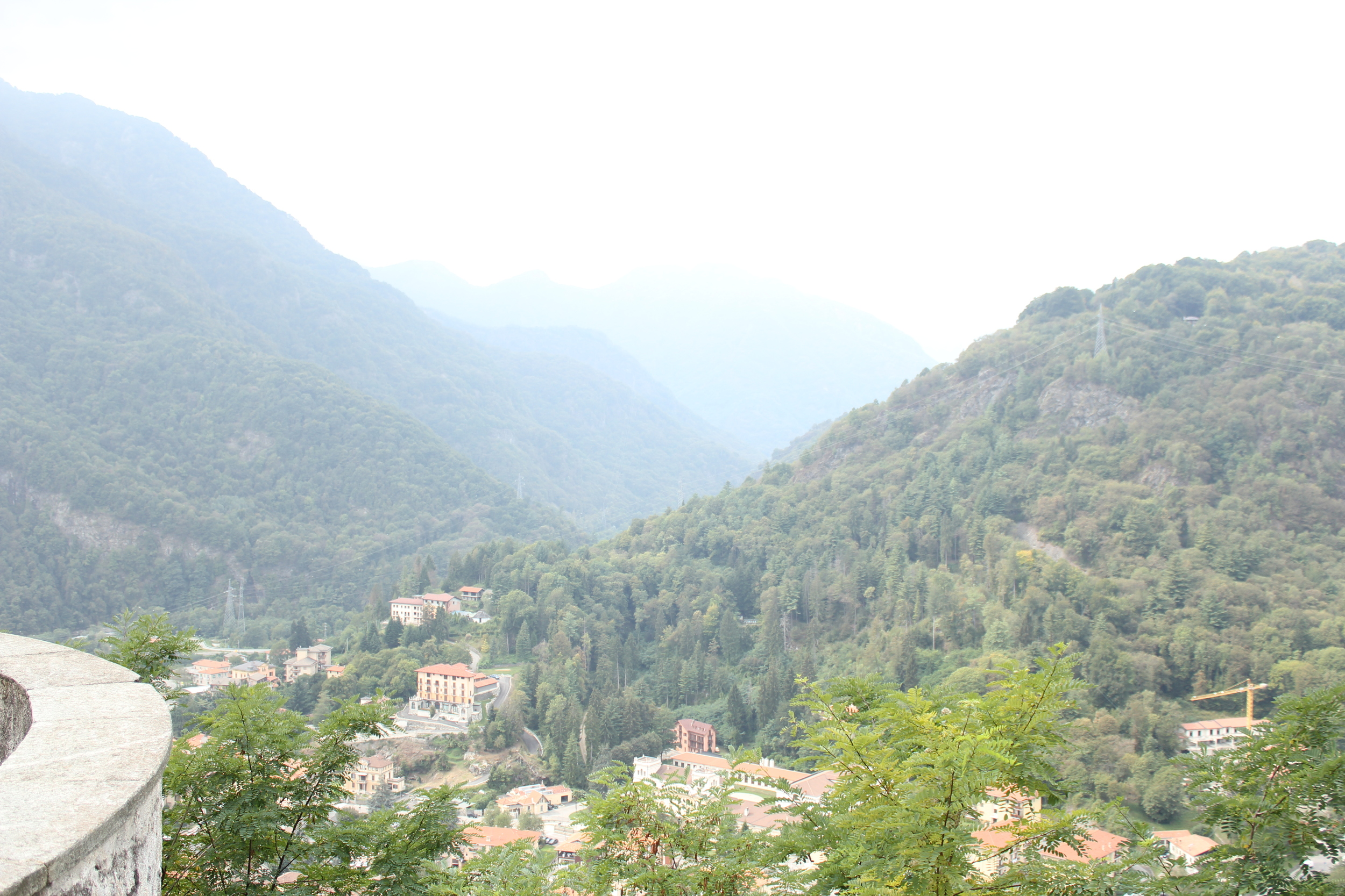 Overlook of Varallo
