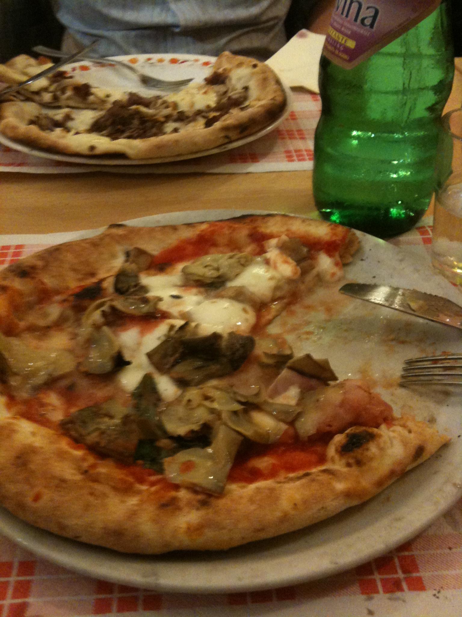 mmmm pizza