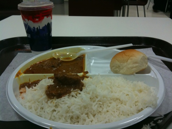 Free food at Doha airport