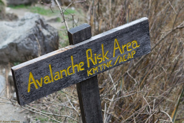 Avalanche Risk Area