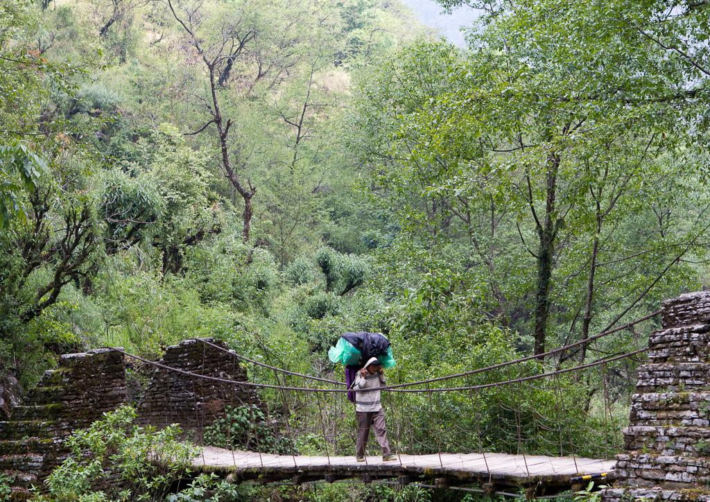 porter on the bridge
