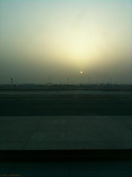 Qatar sunrise 1