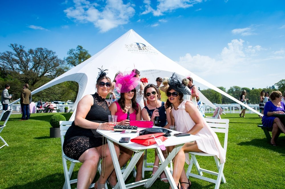 Perth Racecourse branding exercise- ladies day