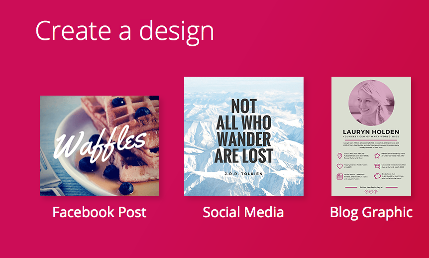 Canva is a free and effective tool to use