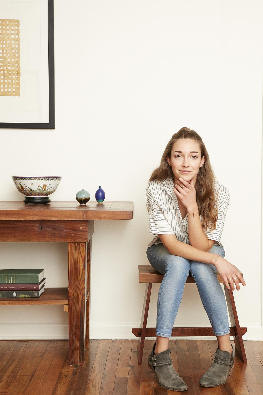 Nicole Rottler Harlow  Niett Metals founder & designer