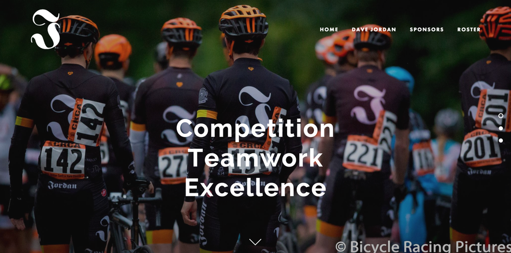 Dave Jordan Racing - Designing and building the website for this NYC bicycle racing team has been just as rewarding and fun as racing my bike for them.