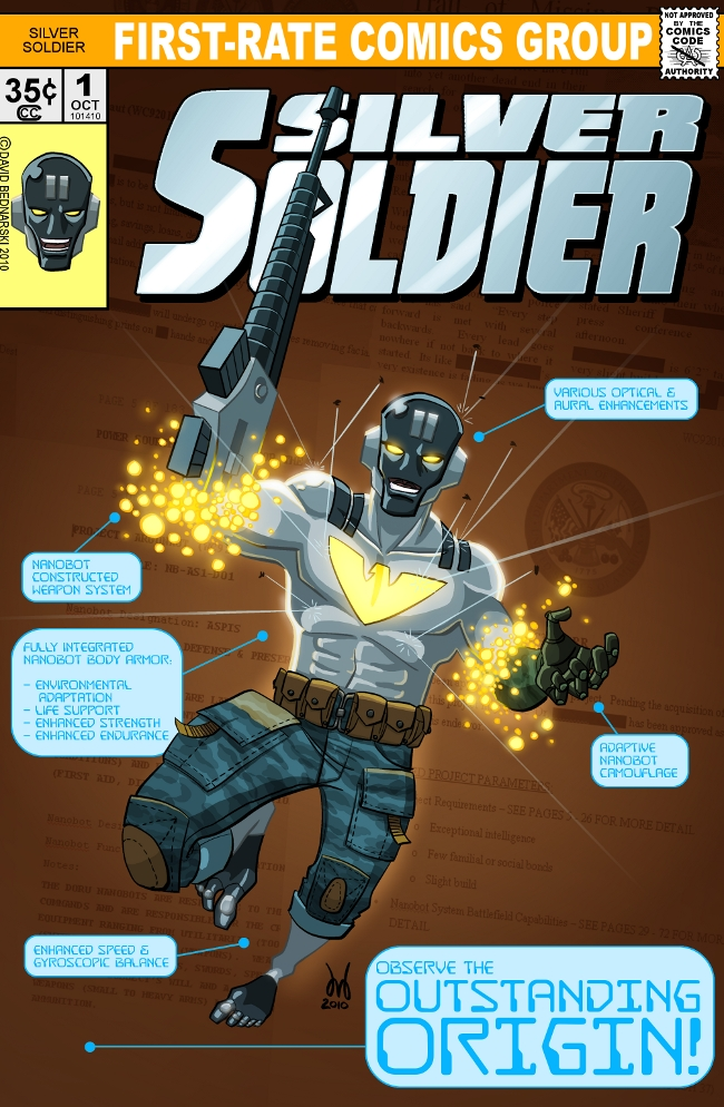Silver Soldier #1