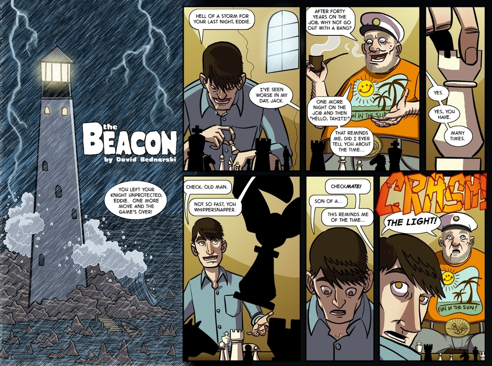 The Beacon pg 1 by David Mikle Bednarski.jpg