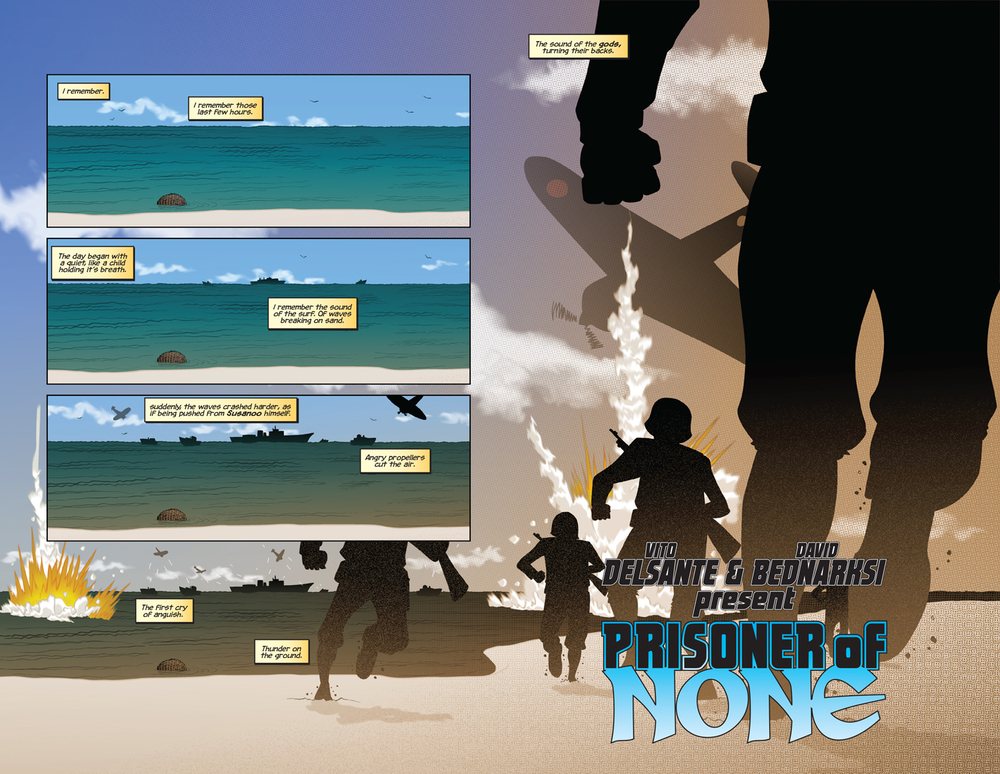 Prisoner of None #1, pages 2 & 3