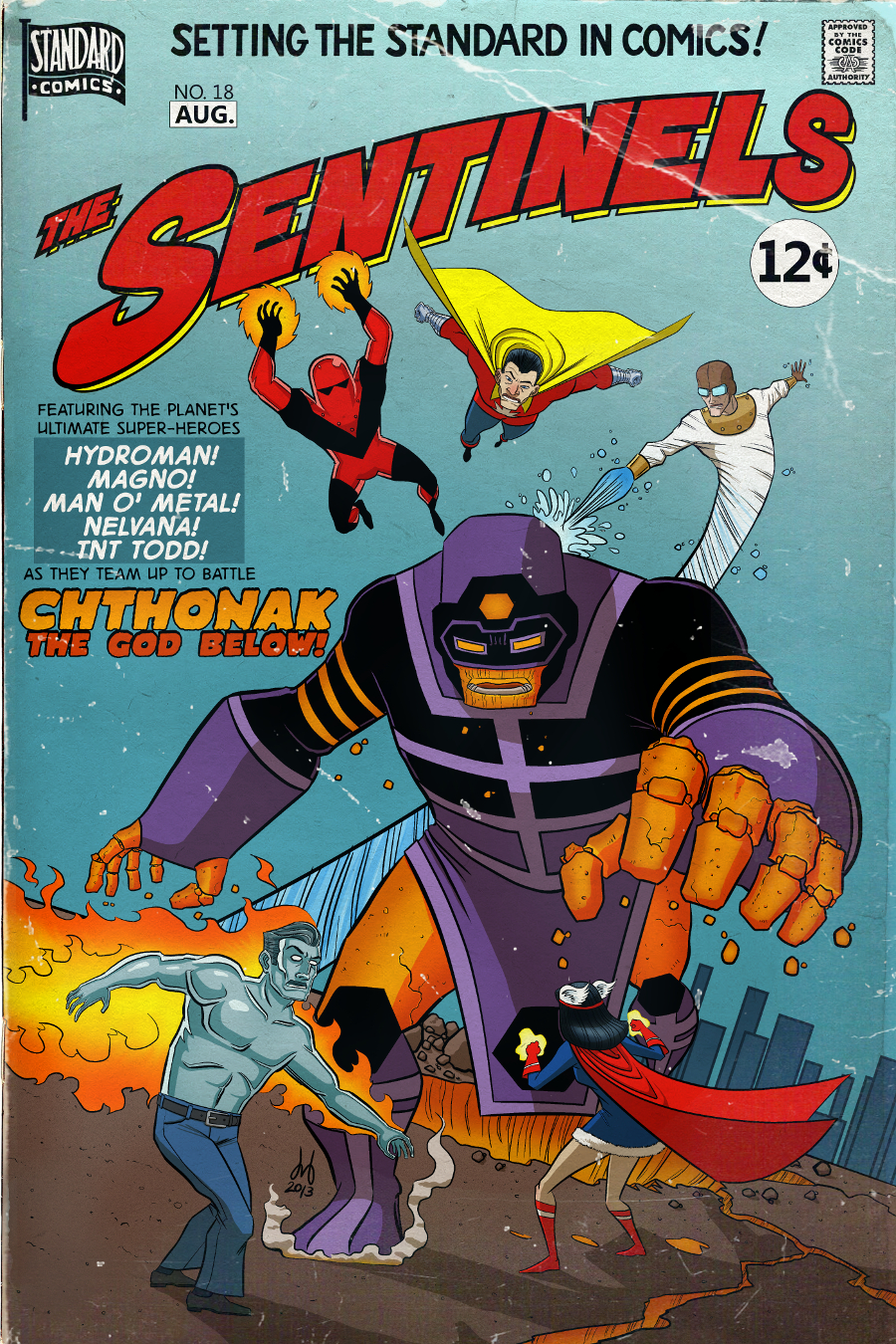 The Sentinels #18