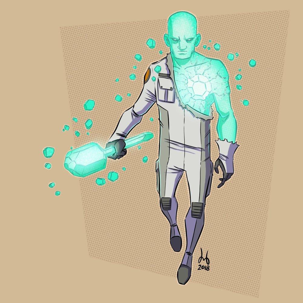 Crystalline Astronaut