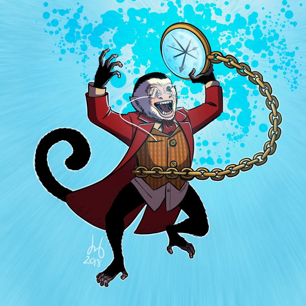 Tempo, the Time Monkey!