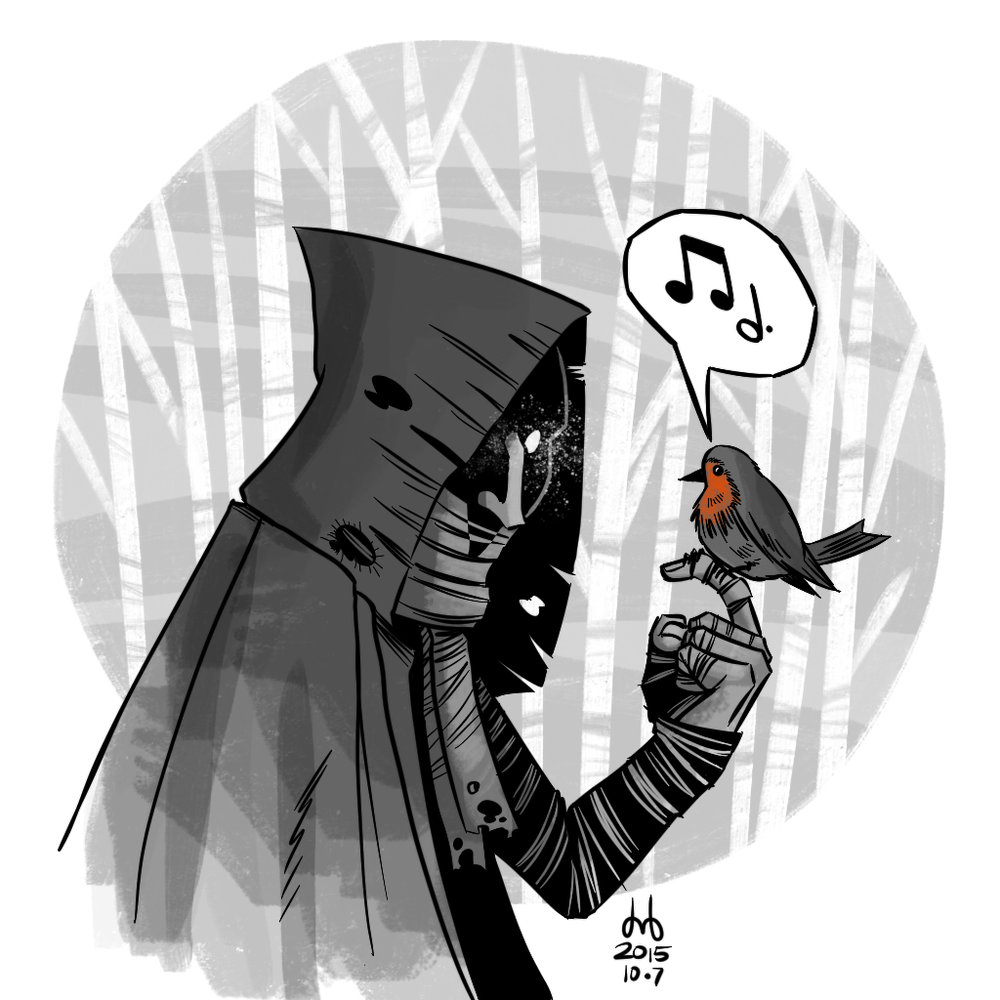 Hooded Watcher