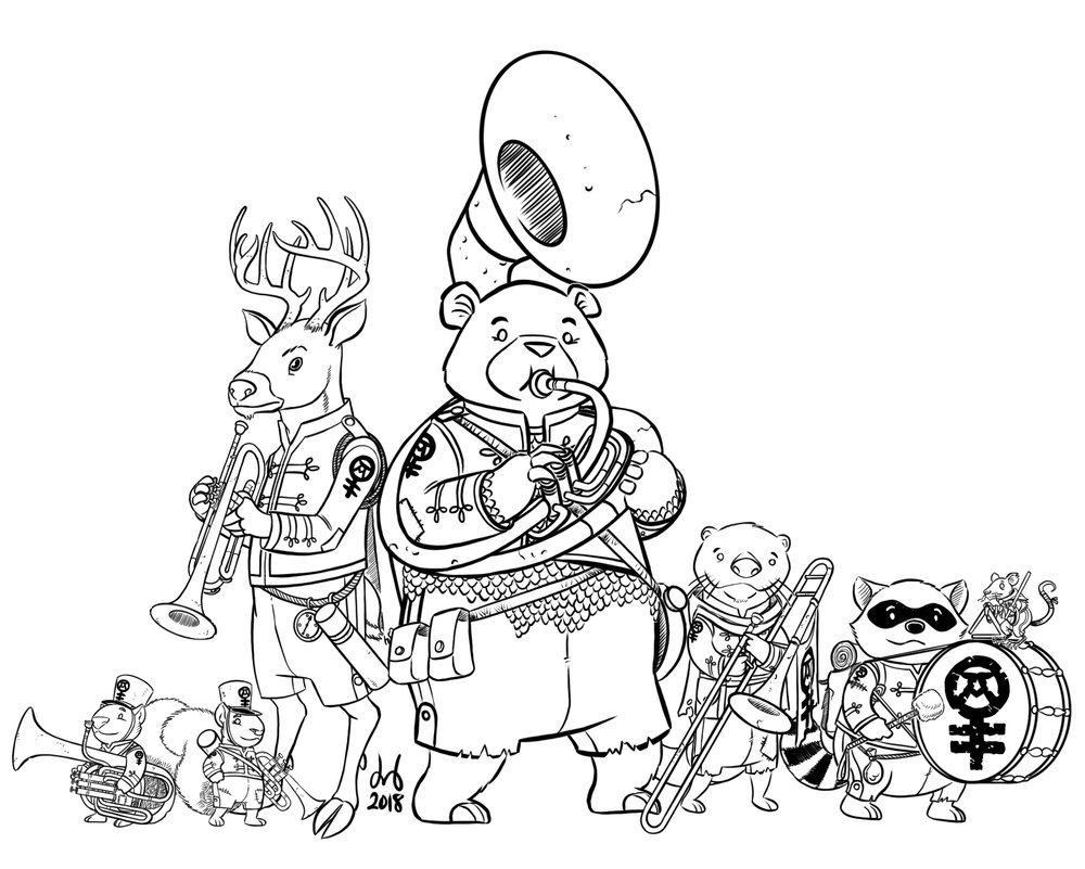 Brass Band of Adventures, Ver. 1